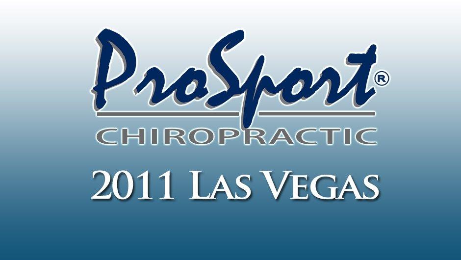 ProSport Chiropractic 2011 Las Vegas